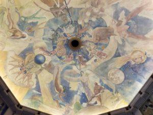 グリフィス天文台 ロサンゼルス観光 フーコーの振り子 天井