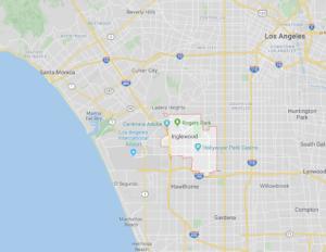 ロサンゼルス 治安 イングルウッド