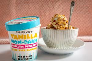 トレーダージョーズ おすすめ 冷凍食品 非乳製品バニラデザート