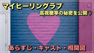 マイヒーリングラブ My healing love キャスト あらすじ 相関図 テレビ 韓国ドラマ